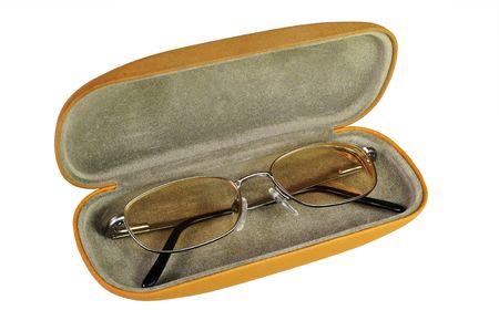 Eye Glasses in Case Фото со стока