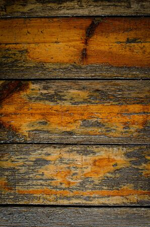 Wooden background. Old wooden pine boards.