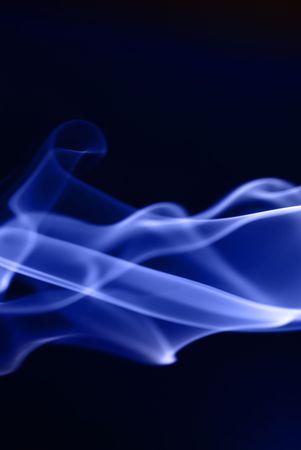 Abstract smoke waves photo