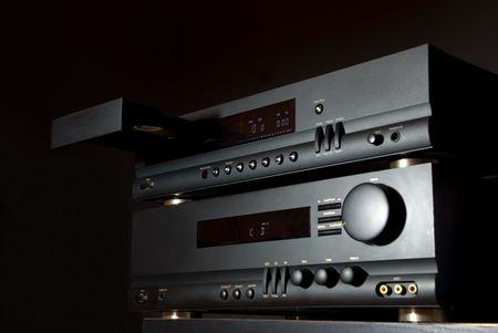 Hi-Fi Audio System Stock Photo - 5557360