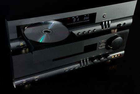 hifi: Hi-Fi Audio System Stock Photo
