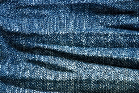 Macro blue jeans background  photo