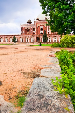 mughal architecture: Humayun`s Tomb. India, Delhi, Uttar Pradesh. Mughal architecture of 1565-72 A.D.India, Delhi, Uttar Pradesh. Editorial