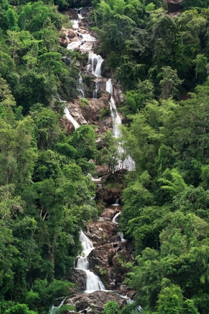 Central Falls mountains are filled with plentiful in Thailand