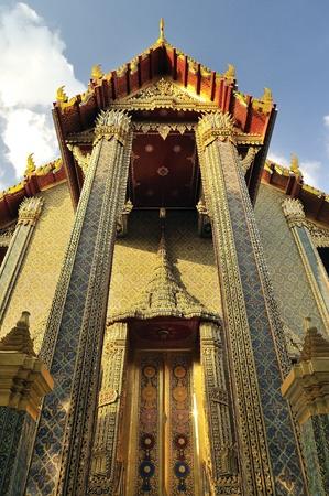 Wat Ratchabophit Buddhist temple Bangkok, Thailand