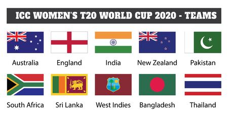 2020 ICC Women's T20   - teams. women's cricket T20 participating teams.