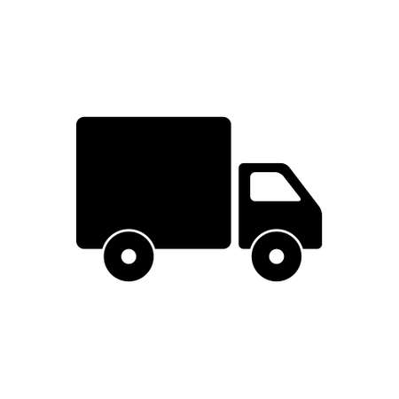Delivery truck icon isolate on white background. Truck Symbol Ilustração