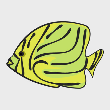 Icon reef fish.