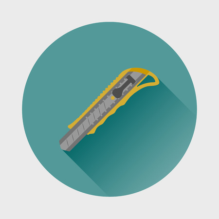 Knife, cutter icon.
