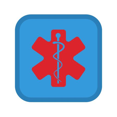 Medical symbol icon. Fully editable vector image Banque d'images - 143303304