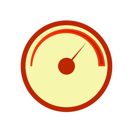 Vector line meter icon. Meter Icon Object. Counter. Vector.