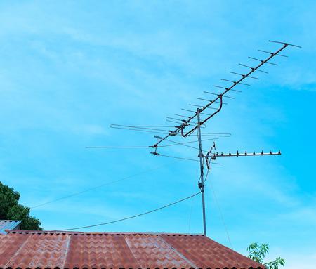 antennas: Antennas Stock Photo