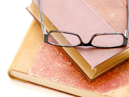 Eyeglasses and Books photo