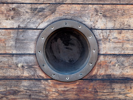 ship porthole: Porthole  Stock Photo