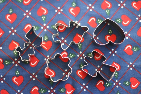 Christmas Cookie Cutters Stock Photo - 11321951