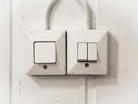 the switch: Interruttori della luce