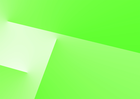 Green Color background looks like boxes or rooms overlapping