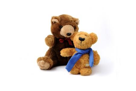 Plush bears photo