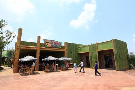 theme park: Nanchang Wanda theme park