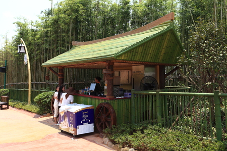 theme park: Attractions kiosk at Theme park