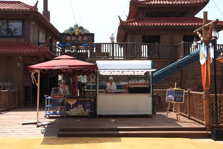 manjar: parque tem�tico Nanchang Wanda - drag�n delicadeza barco