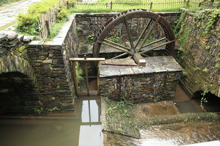 waterwheel: waterwheel Stock Photo