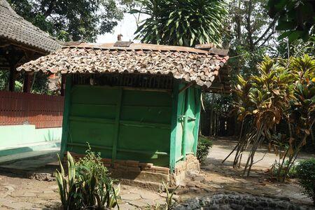 INDONESIA - PATI, June 7th, 2019: Small Green Room in Javanese Historical Sendang Sani Tlogowungu in Pati, Central Jav, Indonesia_1 Editorial
