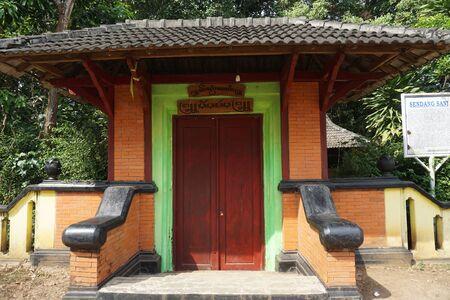 INDONESIA - PATI, June 7th, 2019: The door to Javanese Historical Sendang Sani in Pati, Central Jav, Indonesia_1