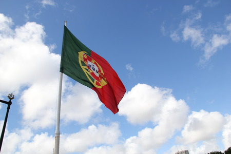 drapeau portugal: Portugal Flag Sky