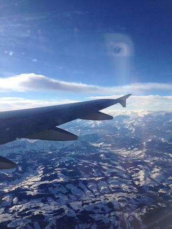 Winter Plane Area View