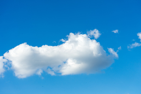 open windows: white cloud with blue sky
