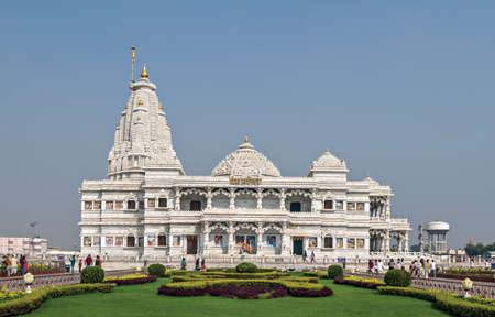 Prem Mandir meaning temple of divine love  is a Hindu temple in Vrindavan, Mathura, India. Editorial
