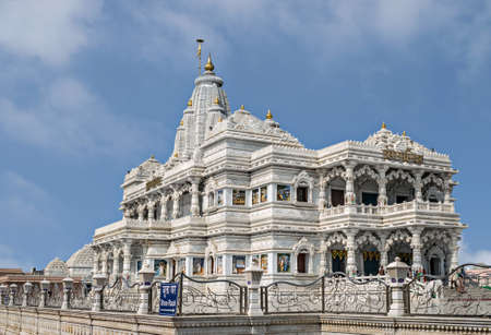 Prem Mandir meaning temple of divine love  is a Hindu temple in Vrindavan, Mathura, India. It is maintained by Jagadguru Kripalu Parishat, an international non-profit, educational, spiritual, charitable trust. The complex is on a 55-acre site on the outsk Editorial