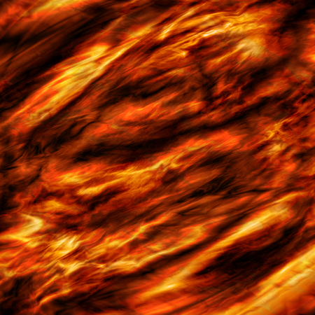 Vector fire background. Flame. Volcanic lava.