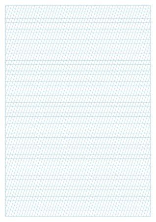 photo about A4 Printable Paper named Vector Blue Calligraphy Train Paper A4 Measurement, Printable