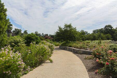 RICHMOND, VIRGINIA, USA - JUNE 2016 Lewis Ginter Botanical Garden