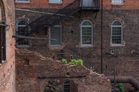 RICHMOND, VIRGINIA, USA - JUNE, 2016: Historic Tredegar building, American Civil War Museum in Richmond National Battlefield Park in Virginia