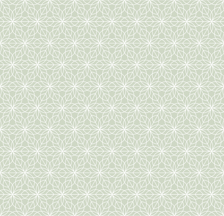 Geometric ornament in two light colors, modern stylish texture, can be used in fashion industry for textile print or decor Standard-Bild - 120639789