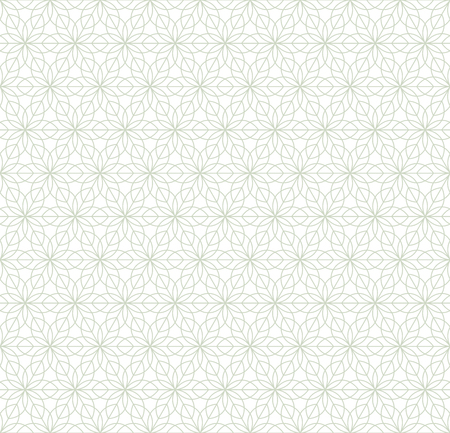 Geometric ornament in two light colors, modern stylish texture, can be used in fashion industry for textile print or decor Standard-Bild - 120639791