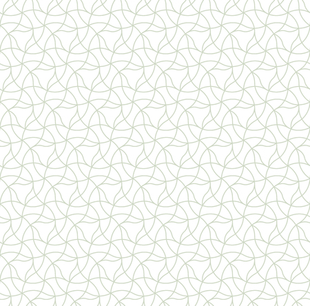 Geometric ornament in two light colors, modern stylish texture, can be used in fashion industry for textile print or decor Standard-Bild - 120640028