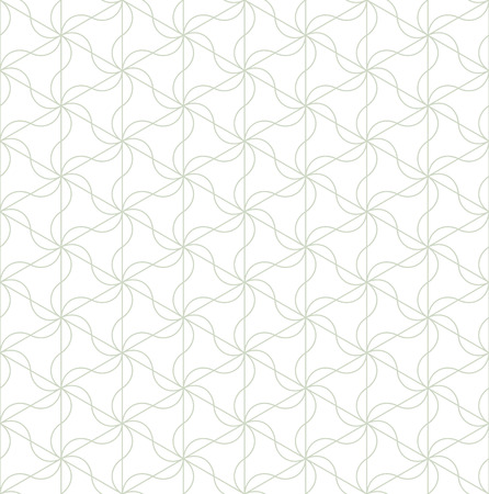 Geometric ornament in two light colors, modern stylish texture, can be used in fashion industry for textile print or decor