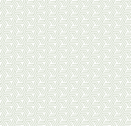 Geometric ornament in two light colors, modern stylish texture, can be used in fashion industry for textile print or decor 版權商用圖片 - 120640033
