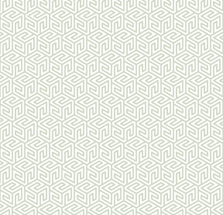 Geometric ornament in two light colors, modern stylish texture, can be used in fashion industry for textile print or decor 版權商用圖片 - 120640034