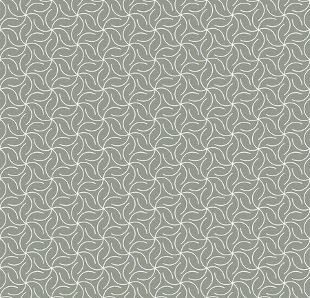 Geometric ornament in two light colors, modern stylish texture, can be used in fashion industry for textile print or decor Standard-Bild - 120640032