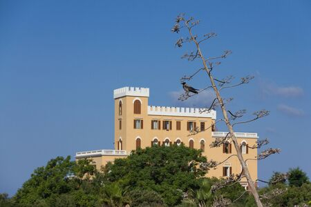 View on Hotel Villa Las Tronas in Alghero, Sardinia, Italy