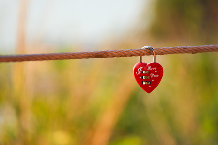 lock heart photo