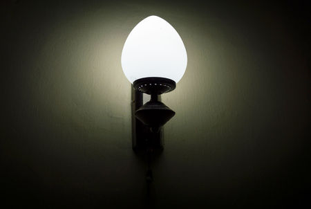 household fixture: Wall lamp