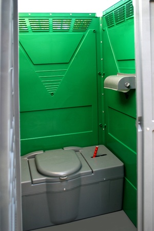 Portable chemical toilets for quantities of public or sporting events Stock Photo - 8389387