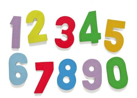 Foam Numbers child