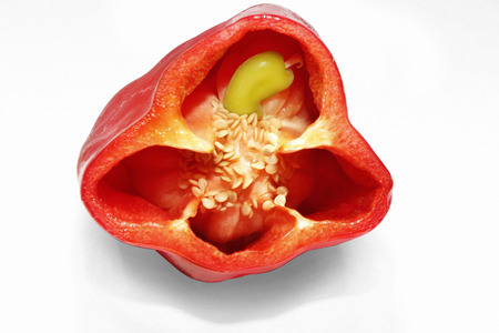 Pimiento with family inside